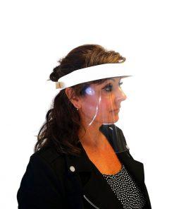 mascara de protección facial homologada ISO 9001